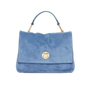 Coccinelle Liya Suede  Medium Denim E1FD1180101B70