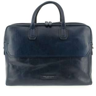 The Bridge Briefcase Williamsburg 06142701 Navy Blue
