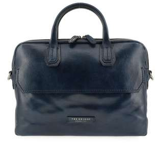 The Bridge Briefcase Williamsburg 06141701 Navy Blue